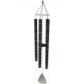 Black & Silver Tuned Wind Chime (Large)