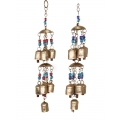 Brass Bells & Beads Wind Chime