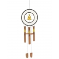 Buddha Dream Catcher Bamboo Wind Chime