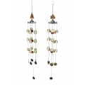 Buddha & Brass Bells Wind Chime