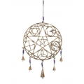 Metal Celtic/Chakra & Bells Wind Chime