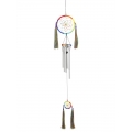 Rainbow Chakra Dream Catcher Wind Chime