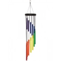Chakra Tubes Spiral Wind Chime (Large)