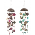 Coconut & Capiz Shell Wind Chime