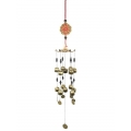 Lucky Coins & Bells Wind Chime