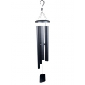 Column Tuned Wind Chime (Black)
