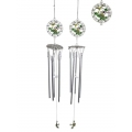 Pewter Frog Wind Chime