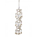 Brass Triple Om & Bells Wind Chime
