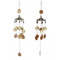 Om & Pagoda Brass Bells Wind Chime