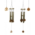 Om Five Tube Wind Chime