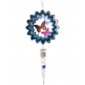 Butterfly Vortex Spinner & Crystal Suncatcher (Large)