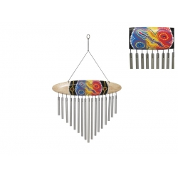 Artistic Surfboard Wind Chime