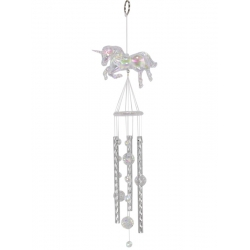 Acrylic Unicorn Wind Chime