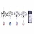 Equilibrium Tree of Life Crystal Suncatcher