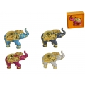 Metal Lucky Jewelled Elephant in Gift Box