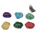 Gemstone Wish Stone with Wording