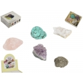 Mineral Rock Crystals in Gift Box (5pc)