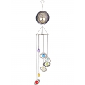 Tree of Life & 7 Chakra Crystals Spiral Mobile
