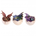 Crystal Dragon Hatching From Egg