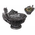Dragon Breathing Fire Design Bowl