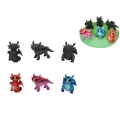 Marble Movie Dragons & Base Display Pack