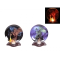 3D Dragon Plate Tealight Holder