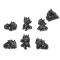 Silver Dragons & Castle Display Pack