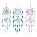 Chakra Star Design Twin Loop Dream Catcher