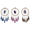 Agate Dream Catcher with Tassels