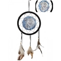 3D White Tigers Design Dream Catcher