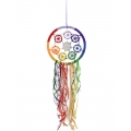 Chakra Star Design Dream Catcher (Medium)