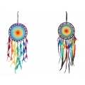 Rainbow Crochet Design Dream Catcher (Medium)