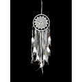 White Crochet & Lace Design Dream Catcher (Small)