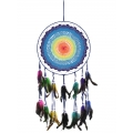 Rainbow Crochet Design Dream Catcher (Large)