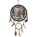 Eagle Design Dual Dream Catcher