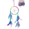 Fluro Rainbow Dream Catcher
