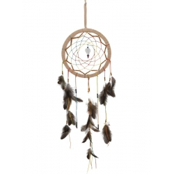Chakra Gemstone Star Dream Catcher & Crystal Suncatcher