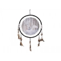 Snow Owl Design Dream Catcher (Large)