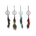 Peacock Feather Dream Catcher (Small)