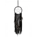Black Pentagram Long Design Dream Catcher