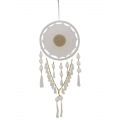 Crochet Pompom Design Dream Catcher (Large)