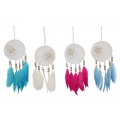 White Moon Design Dream Catcher with Shells