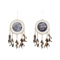 Tigers Design Dream Catcher (White)