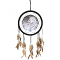 Tiger Design Dream Catcher (White)