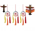Rainbow Chakra Dream Catcher & Tiki Display Pack