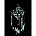 Turquoise Diamond Design Dream Catcher