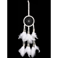 White Beaded Dream Catcher