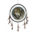Wolf Design Dream Catcher (X-Large)