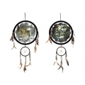 Wolves Design Dual Dream Catcher