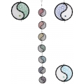 Seven Yin Yang Loops Dream Catcher (Large)